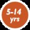 5-14 yrs